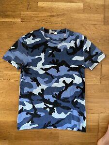Valentino Blue Camo T-Shirt
