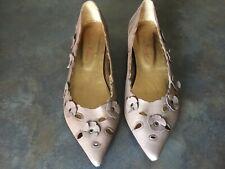 Chaussures en cuir femme - Couleur Pourpre - P38