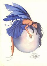 Postcard Amy Brown Gothic Fairy SPHERE II 1999 Art Print Collectable