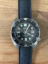 Vintage Seiko Automatic Divers Watch Model 6105-8000 1968  Water 150m Proof