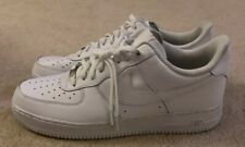 NIKE Air Force 1 Trainers 315122-111 in white Size 13 EUR 48.5