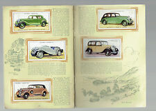 Cigarette Cards Players' preWwii British Automobiles Album