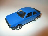 Ford Escort 3 Mk III in blau bleu blue, Norev Jet-Car in 1:43 / 9,4 cm long!