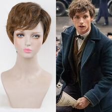 Fantastic Beasts and Where to Find Them Hair Cosplay pixie cropped short Wig