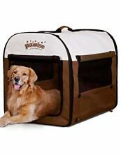 Portable Soft Dog Crate Folding Pet Kennel Cat Samll Animal Tent Indoor & Outdo