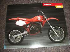 NOS HONDA CR80R 1988 SALES BROCHURE VINTAGE EVO ELSINORE CR 80 R