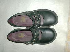 KICKERS perobelle Mary Jane Noir CHAUSSURES VERNIES taille UK 6 EUR 39