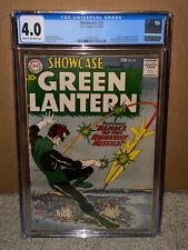 Showcase #22 CGC 4.0 DC 1959 1st Green Lantern! Silver! Hal Jordan! 110 cm clean