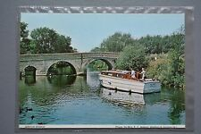 R&L Modern Postcard: Shipping, Binton Bridge, 1988