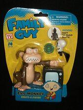 Family Guy cartoon TV Show Evil Monkey Action Create a Figure Build Death Skull