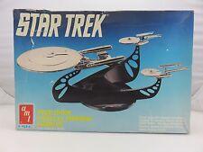 AMT ERTL STAR TREK USS ENTERPRISE CHROME Plastic Model Kit UNBUILT 1991