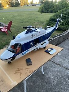 RC Helicopter, Graupner NH90 Turbine Jetcat PHT3