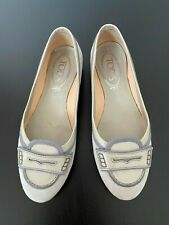 Tod's Womens Loafers Beige Suede  Size 36