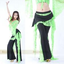 Lace Tribal Long Pants Belly Dance Costumes Dancewear Yoga Practice Trousers