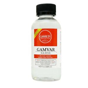 Gamvar Varnish from Gamblin 8.5 fl oz (250ml)