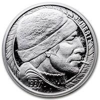 1 oz .999 Silver Proof Hobo Nickel The Fisherman COA Paolo Curcio buffalo Nickel