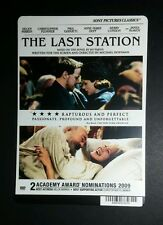 THE LAST STATION MIRREN PLUMMER MCAVOY DU MINI POSTER BACKER CARD (NOT a movie )