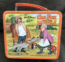 Vintage The Fox And The Hound Lunchbox. No Thermos.