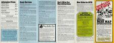 Vintage Cedar Point Park Brochure& Live Show Schedule - B1