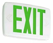 Lithonia Lighting Quantum Thermoplastic Led Emergency Exit Sign (Green) - 142AN7