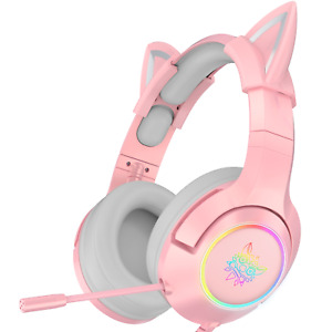 Onikuma K9 Pro Cat Ear 7.1 Gaming Headset For PC only