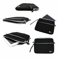 "Black 10"" Neoprene Water-Resistant Case / Sleeve for Samsung Galaxy Tab A 9.7"