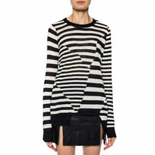 DIESEL M MIXUP Womens Tops Crew Neck Long Sleeve Summer Sweater Casual Tee Italy