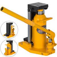 20 Ton Hydraulic Toe Jack Machine Lift Cylinder Replace Welded Steel Warranty
