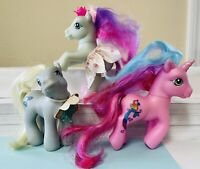 My Little Pony Vintage G3 Lot LOOP-DE-LA Moon Dancer Sunrise Song Rare MLP