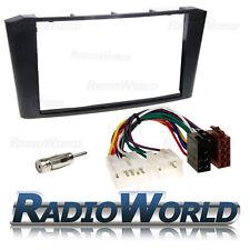 Toyota AVENSIS T25 Kit de Montaje de Radio Estéreo Fascia ISO Antena Adaptador DFP-11-17