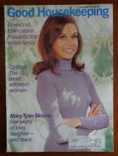 GOOD HOUSEKEEPING magazine Jan 1971 MARY TYLER MOORE-Indians NATIVE AMERICANS