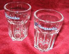 1 - Lot of 2 - Hoegaarden Brewery Sampler Beer glasses (2014-067)