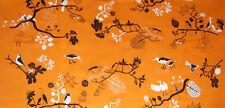 "NEW - IKEA Gunilla Fabric - (59"" x 1.0 yd) - 100% Cotton - Bird Pattern"
