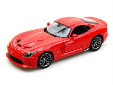 MAISTO 2013 DODGE VIPER GTS RED 1/18 DIECAST CAR 31128RD
