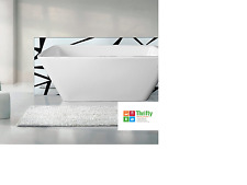 Decina Westin Freestanding Square Bath 1700mm white Factory 2ND