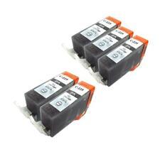 5 NON-OEM BLACK INK CARTRIDGE CANON PGI-225 BK PIXMA MG5220 MG6120 IP4820 MX882