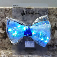 Disney Parks Interchangeable Ears Light Up Princess Cinderella Castle Bow