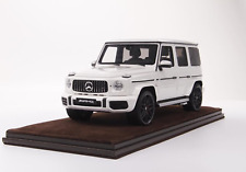 1/18 Motorhelix Mercedes Benz AMG G63 from 2019 in Gloss White