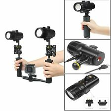 60m UnterWasser LED Fill Light Foto / Video Tauchen Taschenlampe Für GoPro Hero