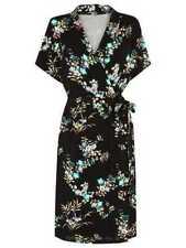 BNWT  Warehouse Vintage Floral Jersey Wrap Dress  size 6 RRP £45