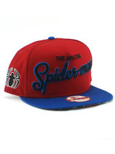 New Era Amazing Spider-Man 9fifty A-Frame Snapback Hat Adjustable Marvel Red NWT