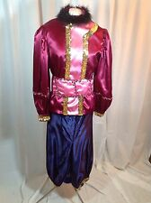 Lovely Women's (size small) Mardi Gras Rider's Costume Top and Pants, Handmade