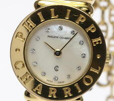 Philippe Charriol ST.TROPEZ 12P Diamond White Shell Quartz Ladies watch_337261