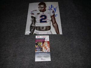 Anthony Richardson Signed 8x10 Jsa Florida Gators