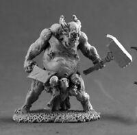 Reaper Miniatures Dreg Chieftain #03686 Dark Heaven Legends Unpainted Metal