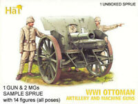Hat 8094 WWI Ottoman Artillery & Machine Guns 1/72 Model Kit - 1 UNBOXED SPRUE