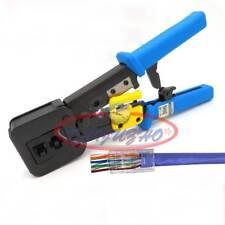 Cable Crimper Clamp Clip Crimping Pliers Network Tool Connectors RJ45