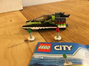Lego City Town Set 60114 Race Boat (2016).