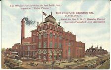 Pre-pro Postcard - Pilsener Brewing Co. - Color Factory Scene - Cleveland, Oh