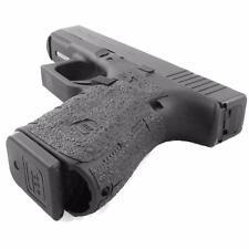 Talon Grips for Gen 4 Glock 19 23 25 32 38 No Backstrap Black Rubber Txture 110R